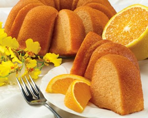 Honeybell Orange Cake with Honeybell Orange Breezers